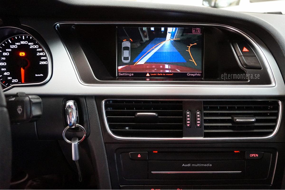 audi backkamera parkeringshj228lp eftermontering audi