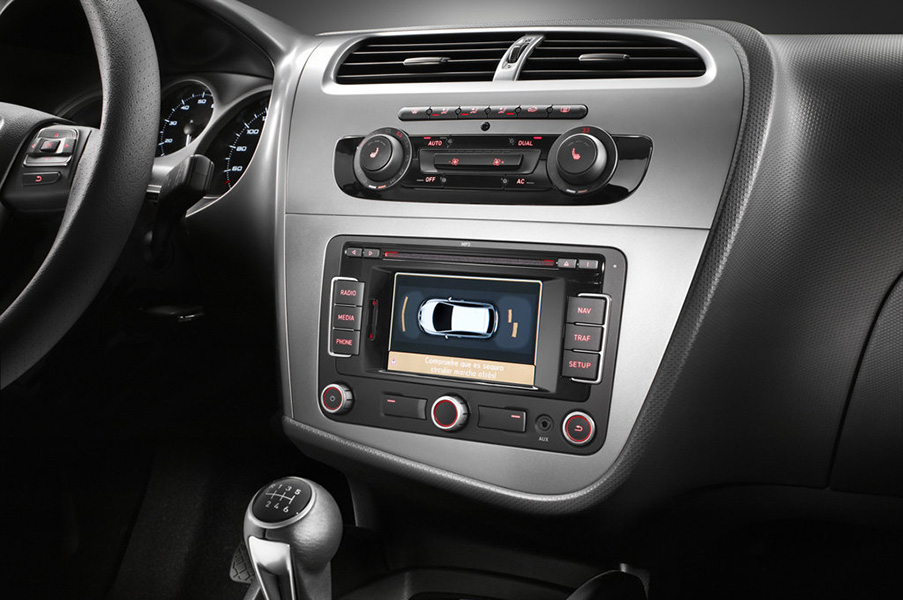 seat navigation navi radio eftermontera seat ibiza. Black Bedroom Furniture Sets. Home Design Ideas