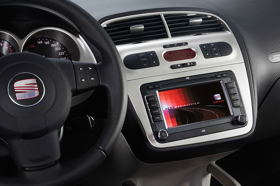 Seat Navigation Navi Radio Eftermontera Seat Ibiza