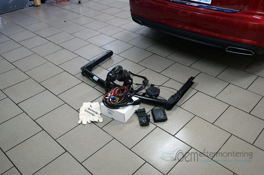 montera dragkrok passat 2012