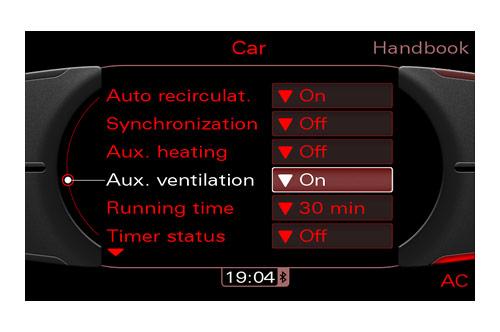 Helt nya Audi Motorvärmare (Komfort) / eftermontering Audi, A1, A2, A3, A4 LJ-33