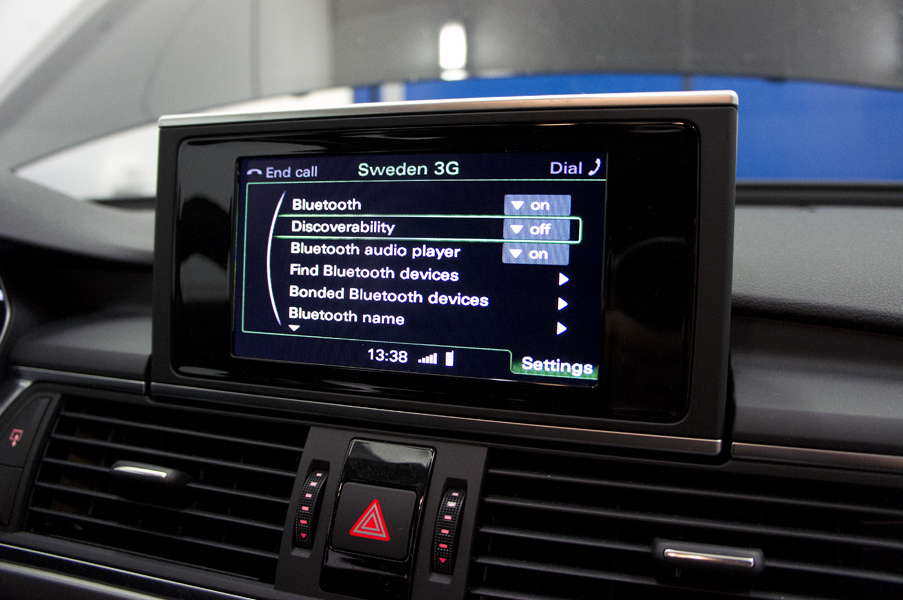 Audi Bluetooth (Handsfree) / eftermontering Audi, A1, A2, A3, A4, A5