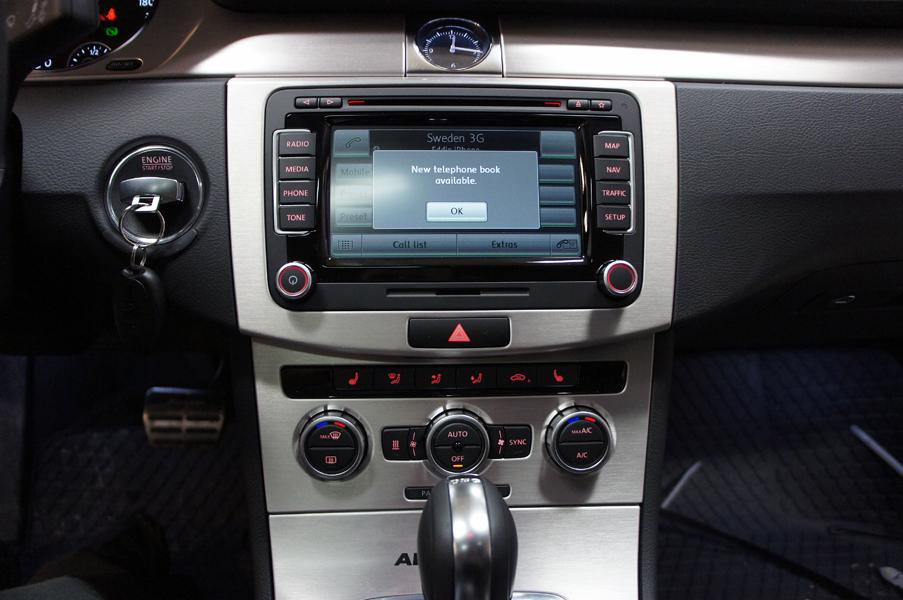 Vw Bluetooth Handsfree Eftermontering Volkswagen Vw