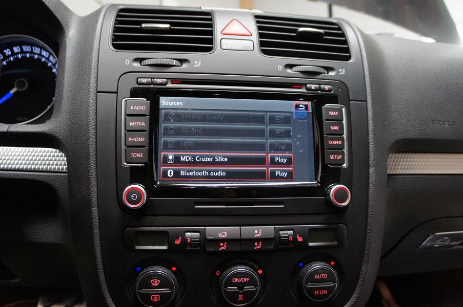 VW iPod / iPhone / USB / AUX / AD2P (Multimedia