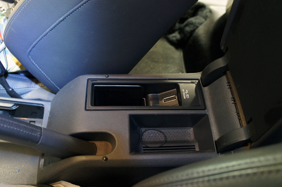 vw ipod iphone usb aux adp multimedia eftermontering volkswagen vw fox lupo
