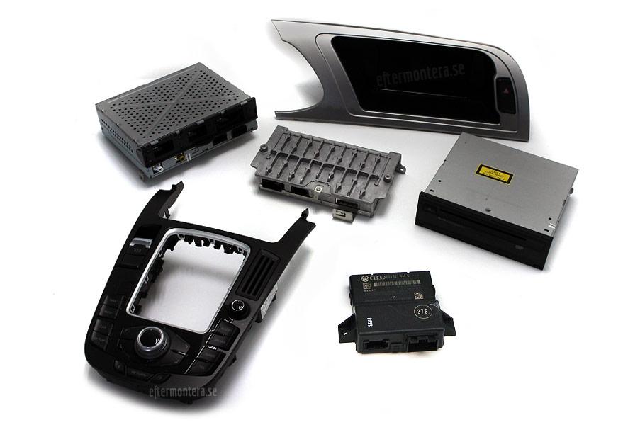 Audi Navigation (Navi, Radio) / eftermontering Audi, A1, A2