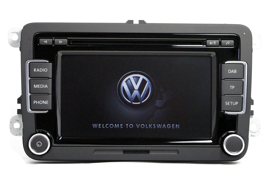 Vw Navigation Navi Radio Eftermontering Volkswagen border=