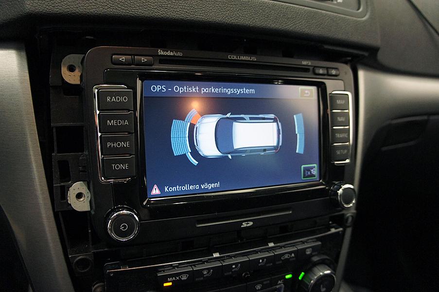 Skoda Navigation (Navi, Radio) / eftermontera Skoda, fabia