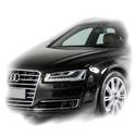 Audi A8 (gäller även S8-modell) årsmodell från 2010-2018