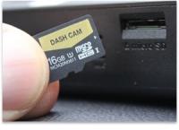 SD-kort backup i dashcam (micro)