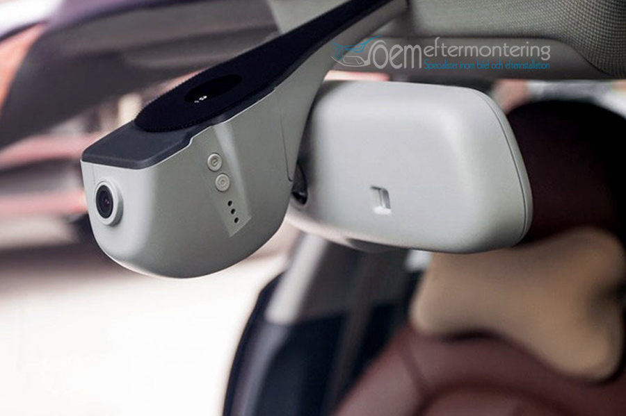 Inbyggd Kamera Dashcam Vindrutan F 246 R Audi Vw Skoda