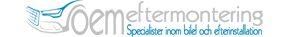 efterinstallera & montera Logotyp