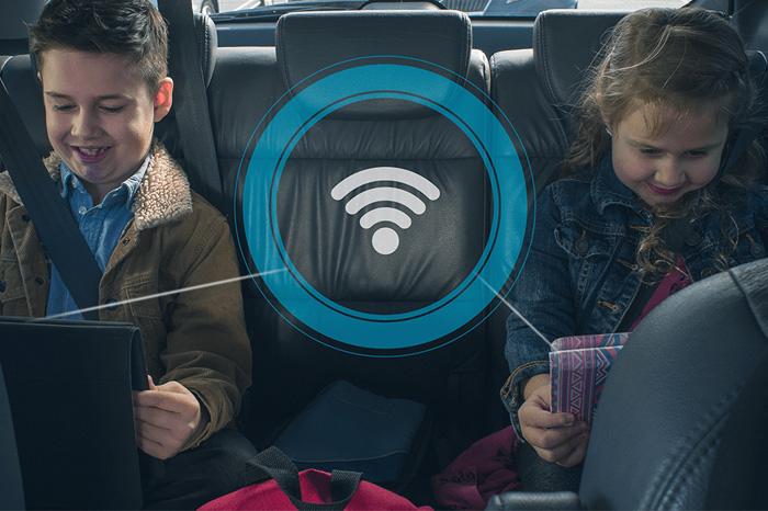 WIFI i bilen (hotspot)
