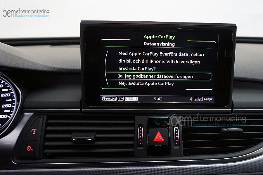 Aktivera Av Carplay Andriod Auto I Audi A6 A7 Med Mmi Navigation Plus