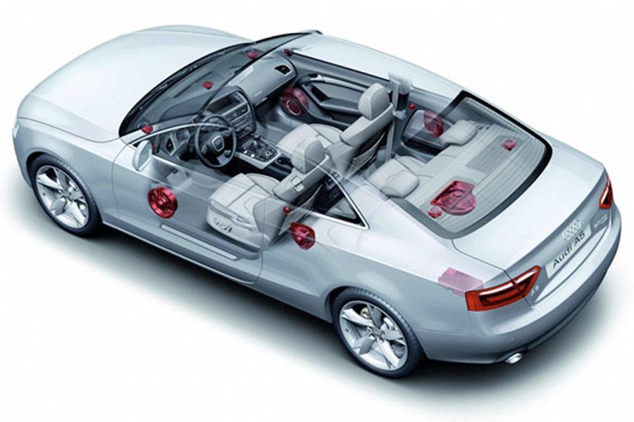 Audi original ljudsystem (uppgradering)