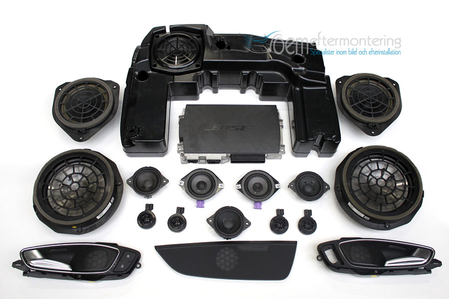 Bose ljudsystem Audi