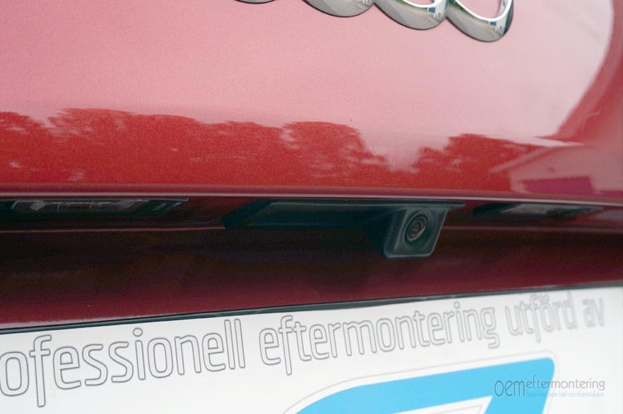 Backkamera (bak kamera) för Audi A3, A4, A5, A6, A7, S4, S5, S6, S7