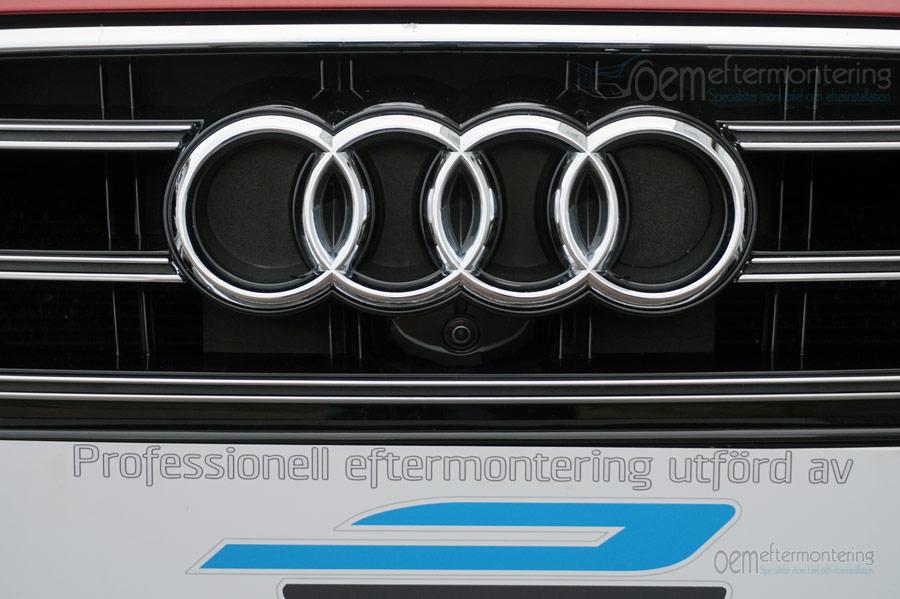 Front kamera i Audi A4, A5, A6, A7, A8