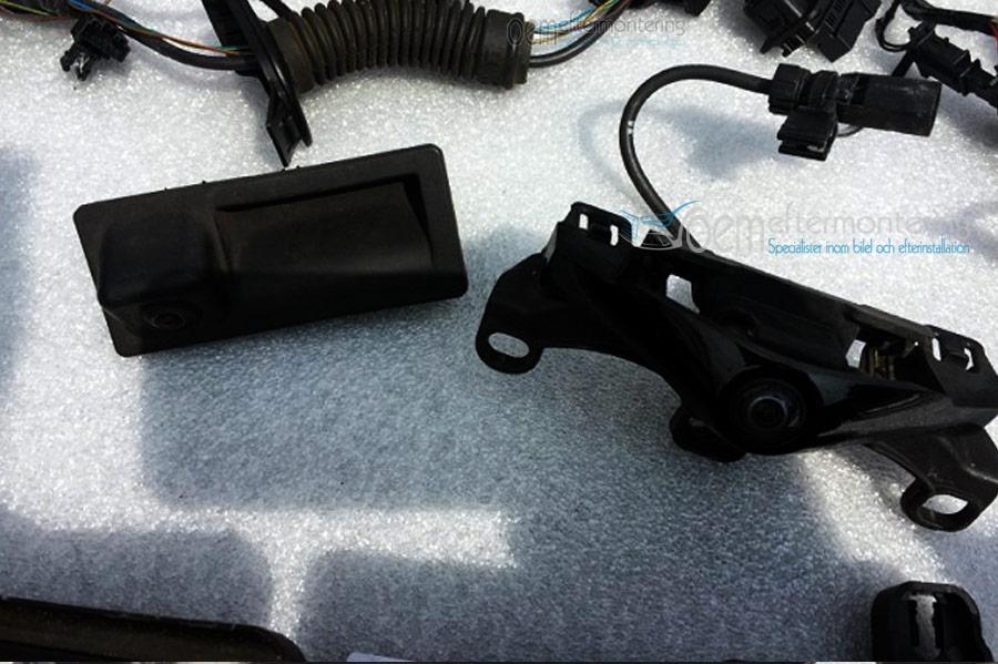 Framkamera, front kamera, back kamera, Audi och Volkswagen