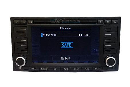 Volkswagen radio original code (safe)