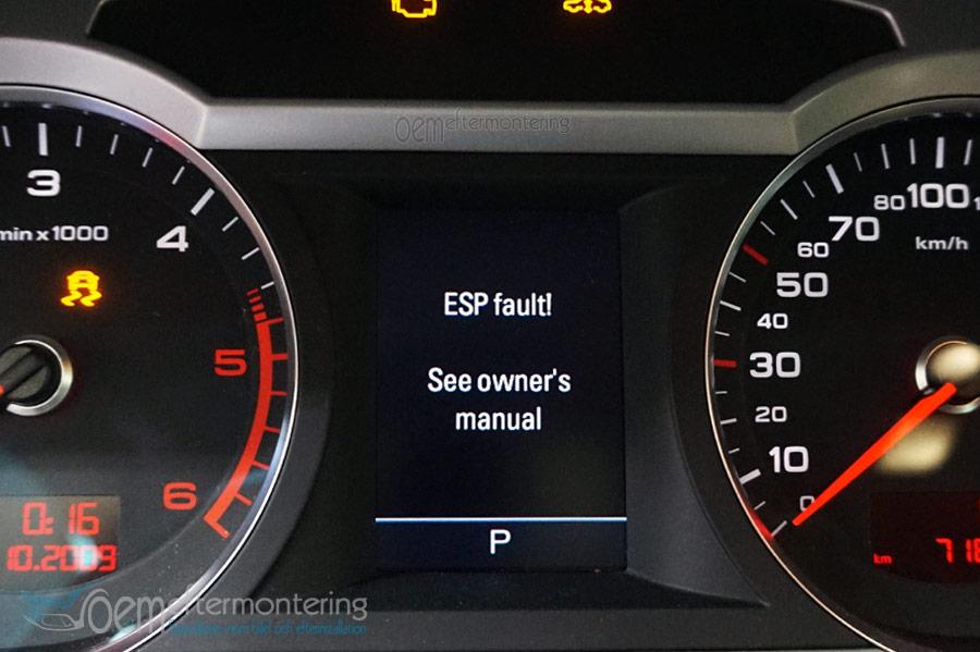 Audi esp fault   Audi A6 Questions  2019-02-17