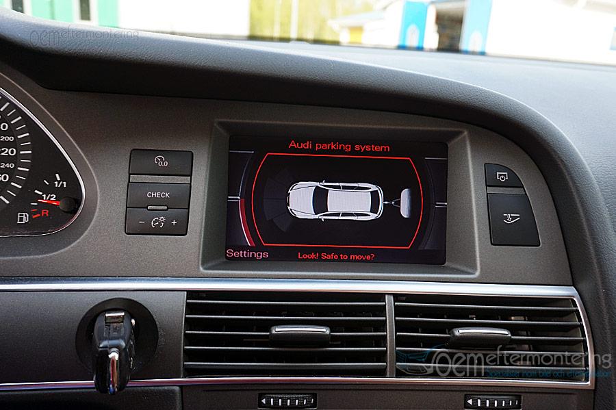 Audi original parkeringssensorer dragkrok