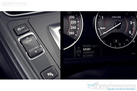 Aktivt motorljud (diesel) i BMW
