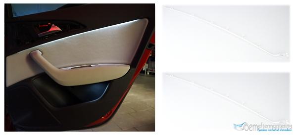 Audi a6, A7 dörrsida led, ambient belysning