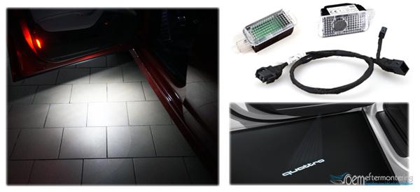 Audi original, led lampor, quattro