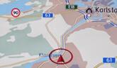 kartor till vw original navigation, enhet