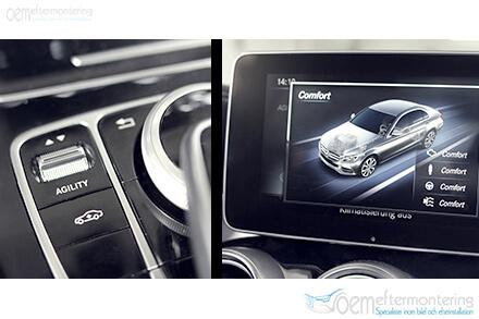 Mercedes Benz, aktivt motorljud