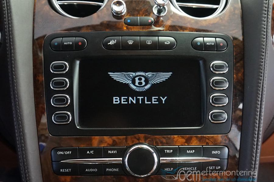 Bentley Continental Bluetooth Streaming (strömning)