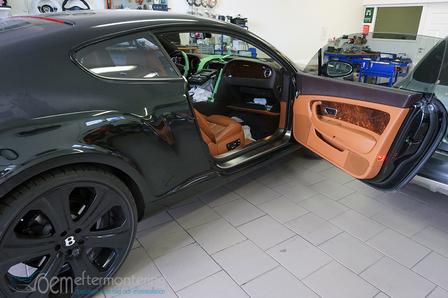 bentley continental bluetooth spotify, apple, andriod