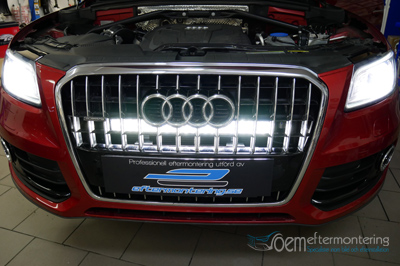 Audi Q5 (LED-ramp installation)