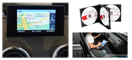 audi a1 mmi navigation aktivering, aktivera gps