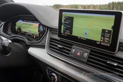 audi mmi navigation, virtual cockpit med MMI navigation plus