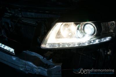 LED-ljusramp riktat ljus