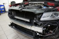 LED-ramp installation (dolt bakom grill) Audi A4, A5, Q5