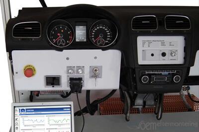 testbänk, radioreparation, original, volkswagen
