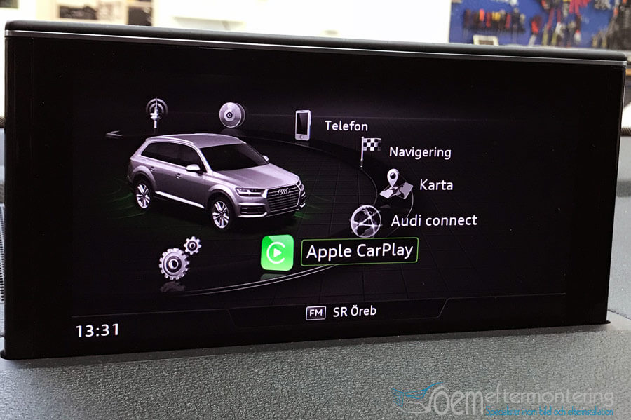 audi q7 carplay andriod auto