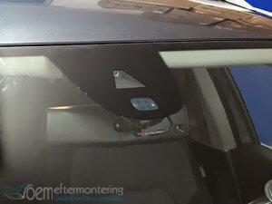 kamera montering för lane assist, trafikskylt avläsning, matrix i audi och volkswagen
