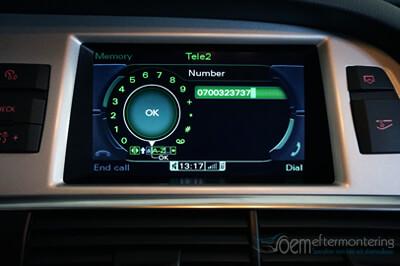 para ihop telefon audi radio navigator original