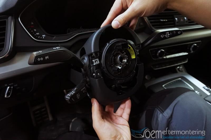 Audi Q5 (Lane-assist) eftermontering