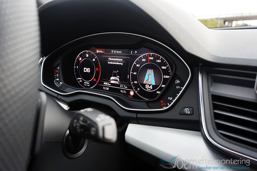 Audi Q5 - Virtual cockpit retrofit