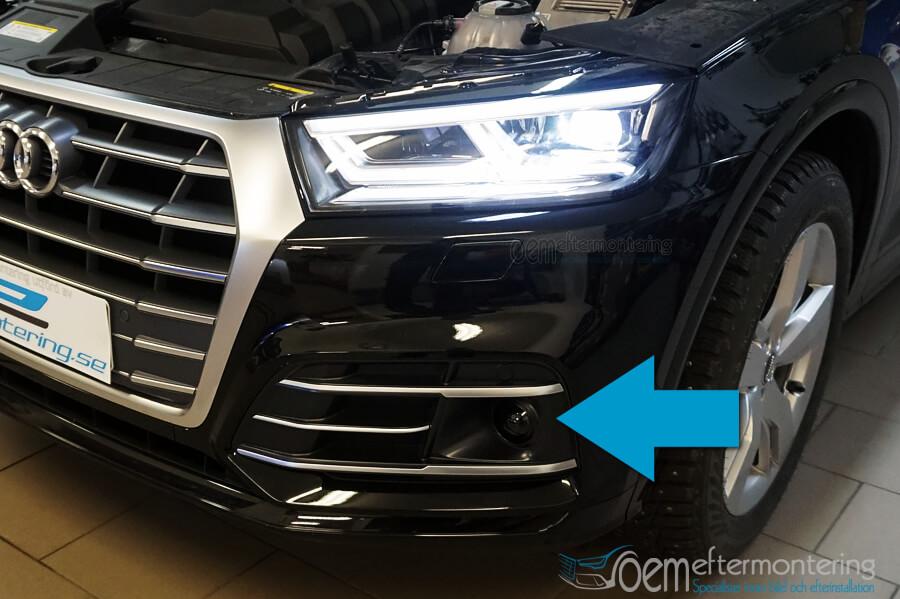 Adaptiv farthållare i Audi Q5 (A4, A5)