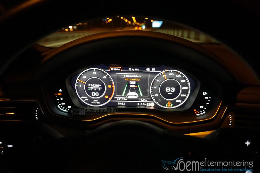 Digitala instrument tavlan - Audi A4, A5, Q5, Q7