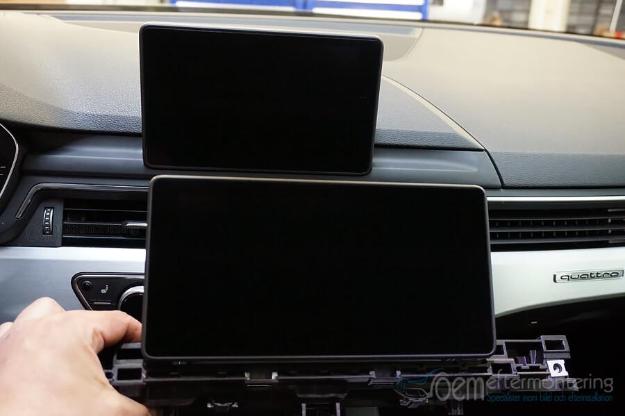 Original navigator / gps i Audi A4 (allroad), Audi A5 eller Q5.