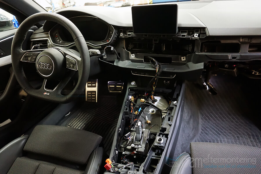 Audi original navigation i A4 (b9), A5 och Q5