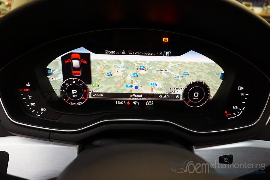 audi virtual cockpit, original eftermontering