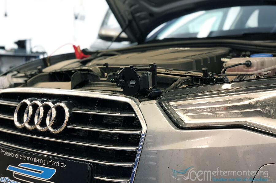 Audi infraröd kamera för Nightvision